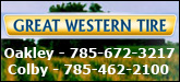 Great Western Tire Sponsorship Banner